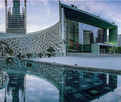 Shanghai Museum of Natural History, single-side color steel phenolic board, particulate smoke board project case